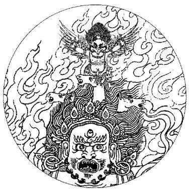 秘密主三身合一忿怒尊仪轨导修  不灌顶者勿看 - 拨云见月 - 我眼中的皇觉寺